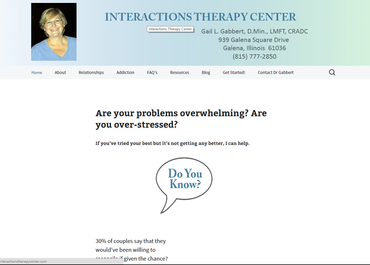 interaction therapy website